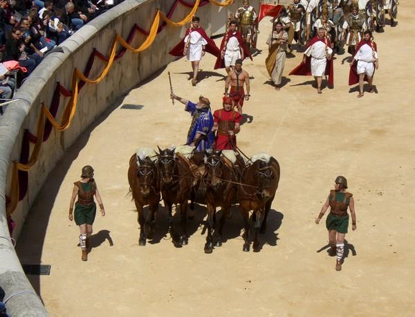 Roman Games, Nimes